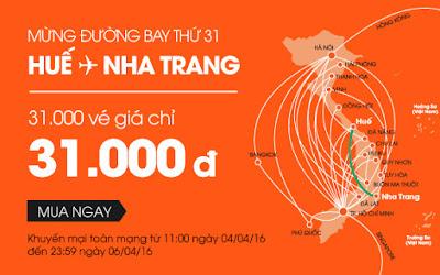 Khuyến mãi Jetstar đi Đà Nẵng 31000 đồng