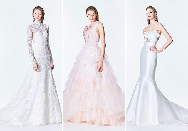 Carolina Herrera Bridal Collection Fall 2017