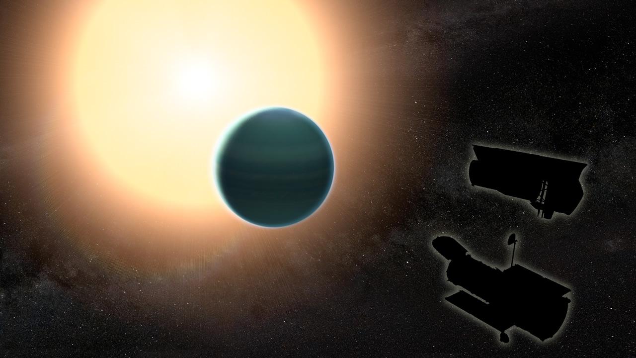 Una extraña y primitiva atmósfera ha sido descubierta en un exoplaneta rico en agua