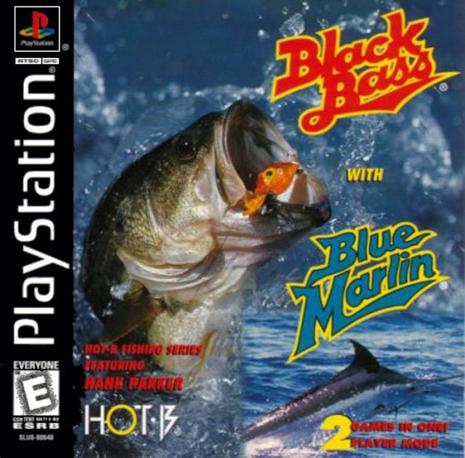 Black Bass with Blue Marlin - PS1 - ISOs Download
