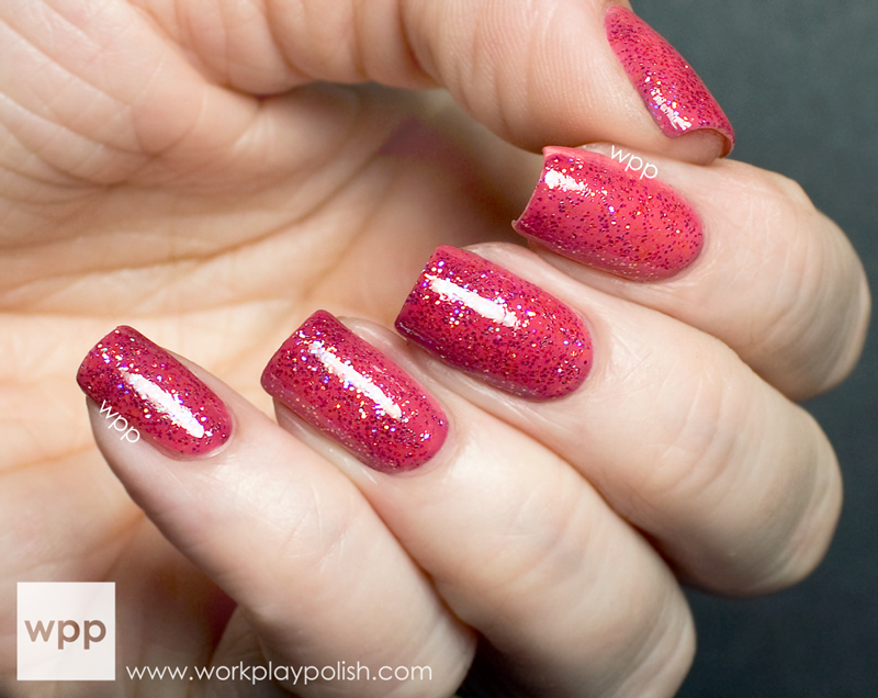 Ruby Wing Sweet Cream from the Cupcakes and Champagne Collection