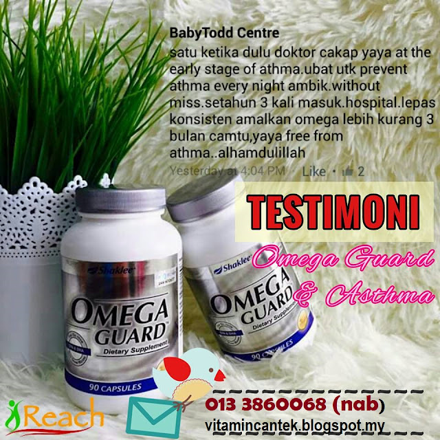 fungsi omegaguard shaklee