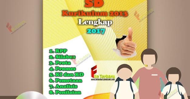 Perangkat Pembelajaran Sd Kurikulum 2013 Lengkap 2017 File Terbaru
