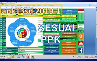 aplikasi apk13sd raport sd 2019