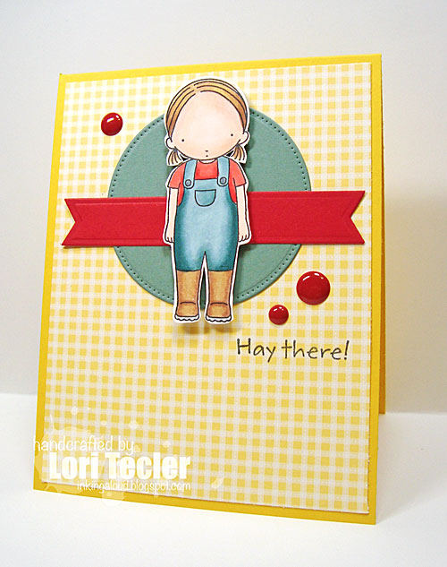 Hay There card-designed by Lori Tecler/Inking Aloud-stamps and dies from My Favorite Things