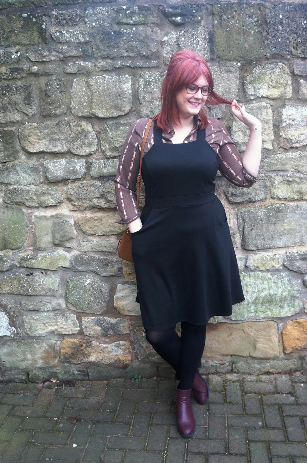 The Plus Size Pinafore with Yours Clothing - The Em Edit