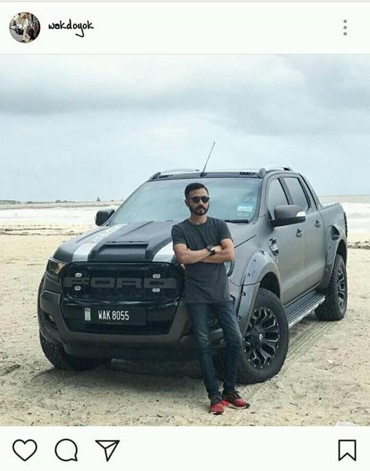 Wak Doyok tampil maskulin dengan Ford Ranger