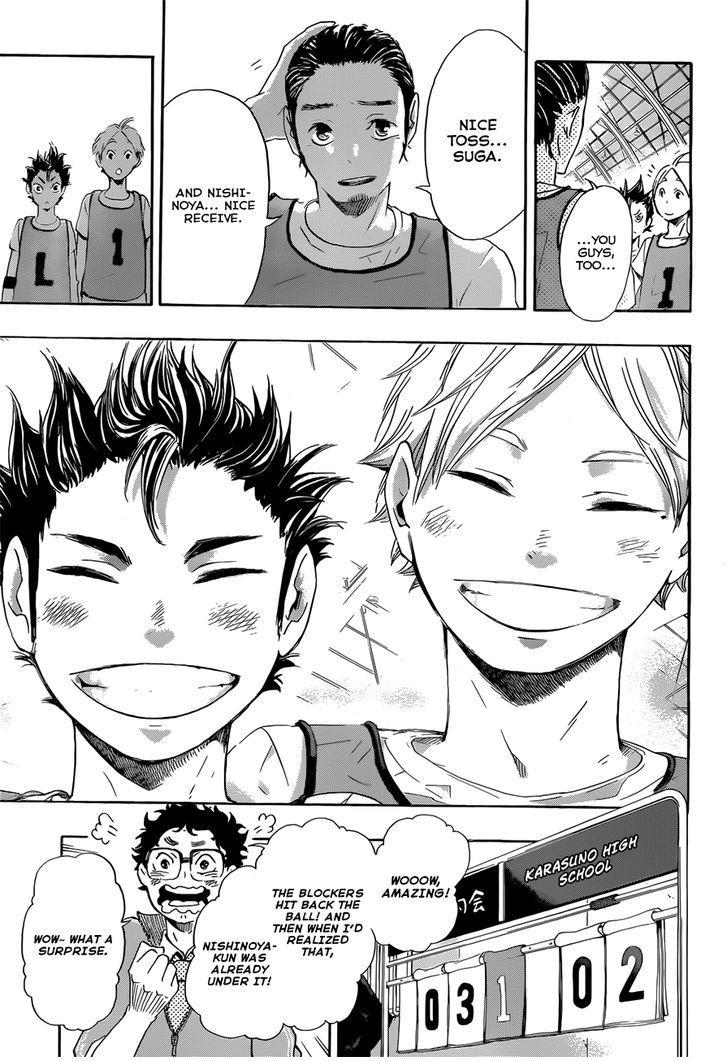 haikyuu ch 21 a toss to the ace manga   read haikyuu