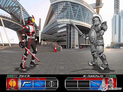 Download Kamen Rider 555 PS2 emulator PCSX2 zona-games.com
