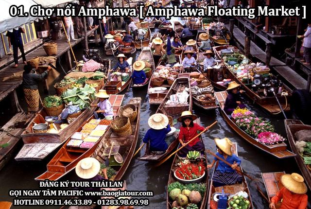 Chợ nổi Amphawa [ Amphawa Floating Market ]