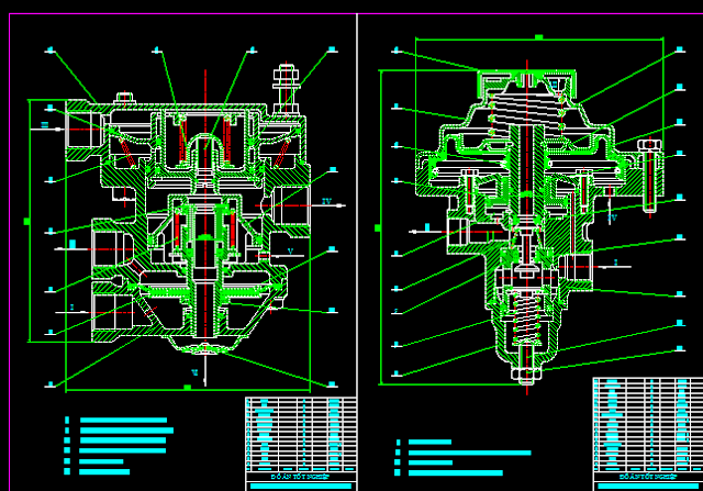 Bản vẽ hệ thống phanh xe tải