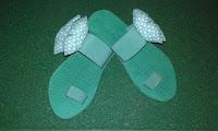 Sandal Pita Polkadot Cantik Dan Murah