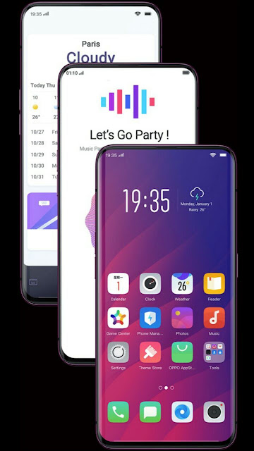 Beautiful picture of Oppo find x