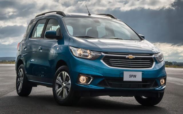 Novo Chevrolet Spin 2019