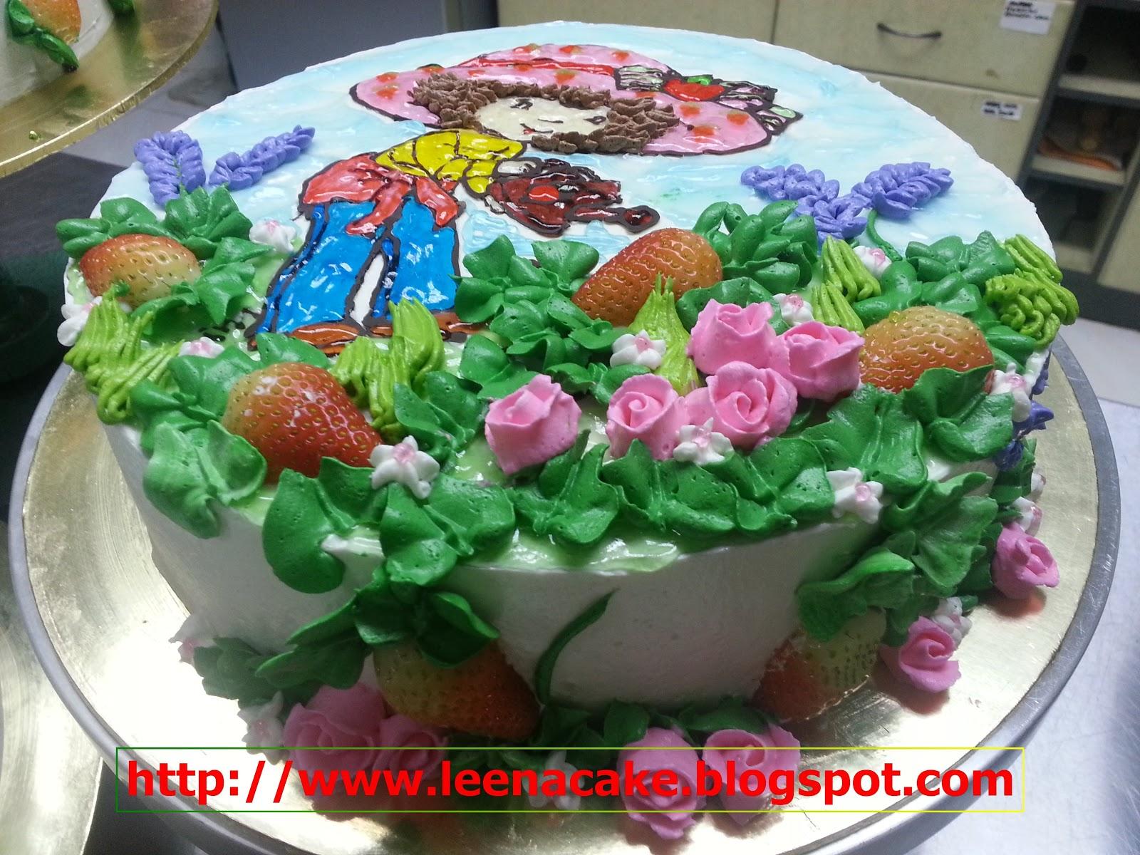 Leena Cake Creations: Cartoon Artwork