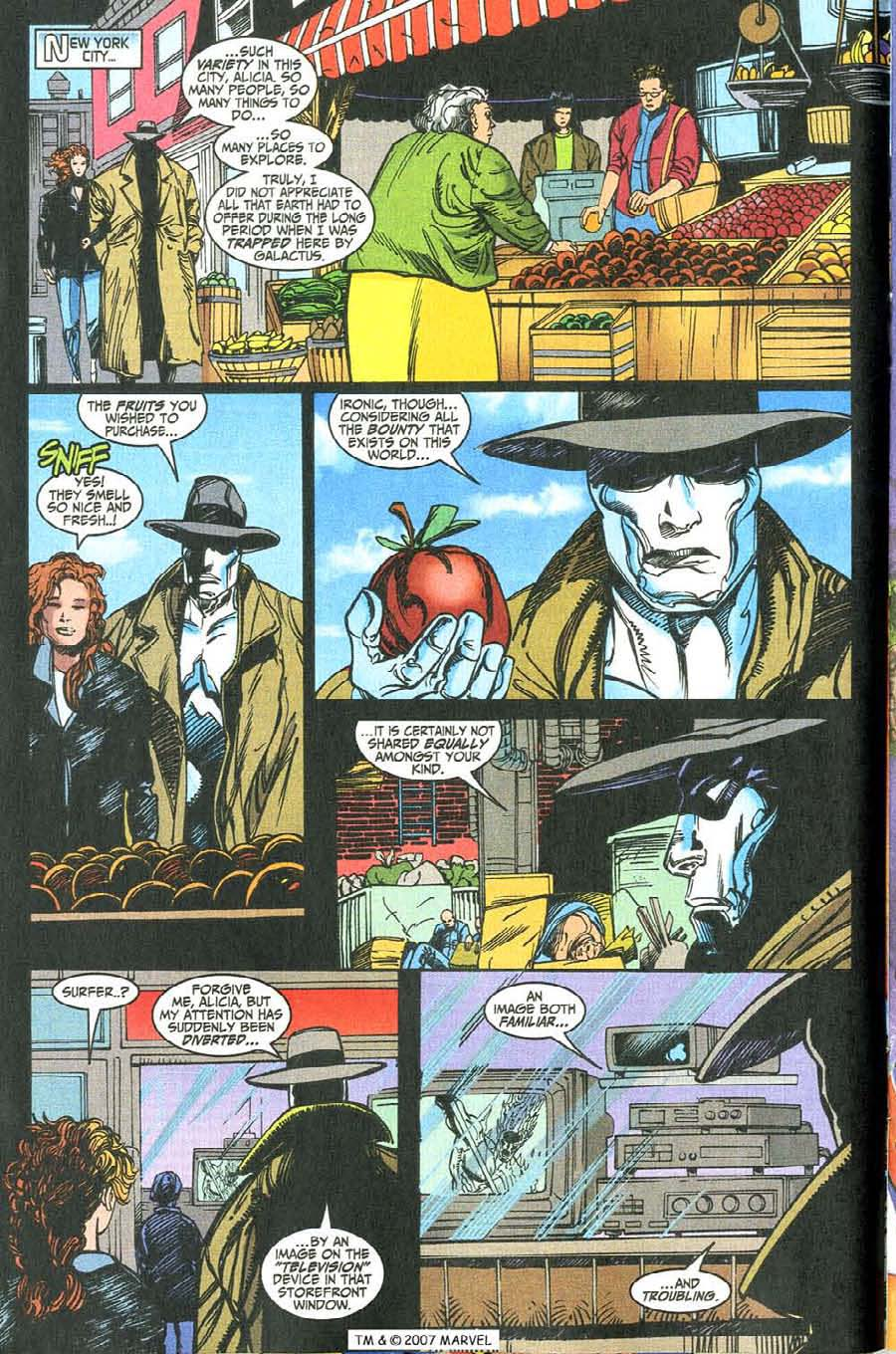 Read online Silver Surfer (1987) comic -  Issue #146 - 14
