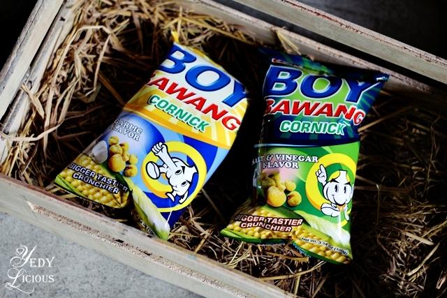 Boy Bawang Cornick Boy Bawang New Products, Boy Bawang Best Local Snacks in the Philippines, Boy Bawang KSK Food Products Blog Review YedyLicious Manila Food Blog Yedy Calaguas