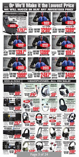 2001 audio vidio flyer this week December 1 - 7, 2017