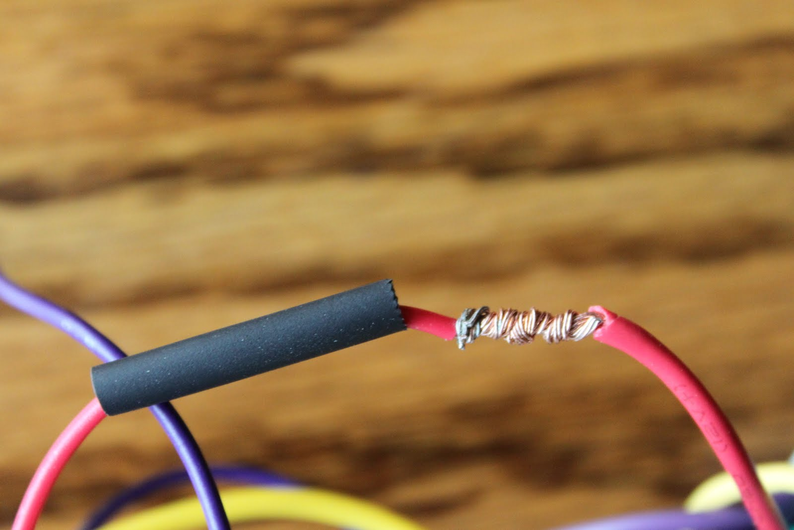 medium resolution of bryan s blog soldering car stereo harness wires car radio wiring harness solder