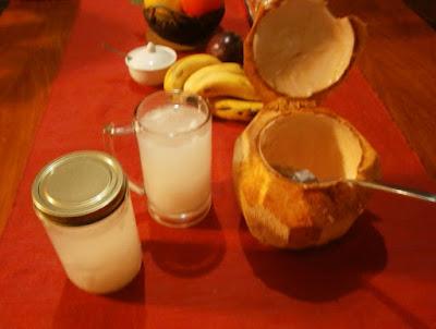 fresh coconut for health