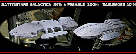 BSG EAGLEMOSS COLLECTION CAPITOL SHIPS 2019 - EPIC SCALE GAMES!