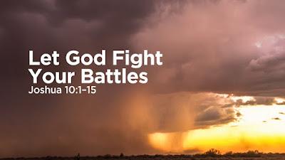 God strijdt voor ons