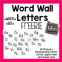 https://www.teacherspayteachers.com/Product/Word-Wall-Letter-Cards-White-Set-1947240