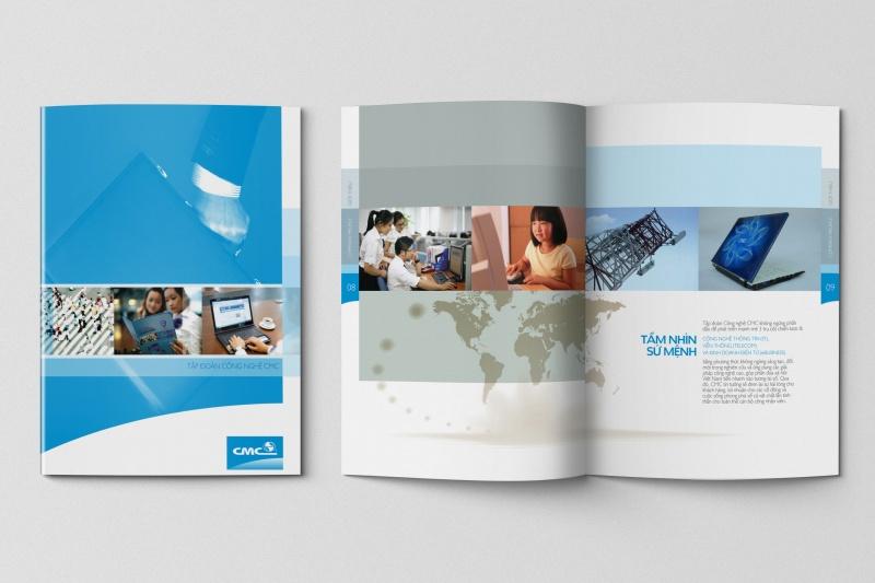 In profile công ty đẹp, hồ sơ năng lực, sách giới thiệu công ty CMC