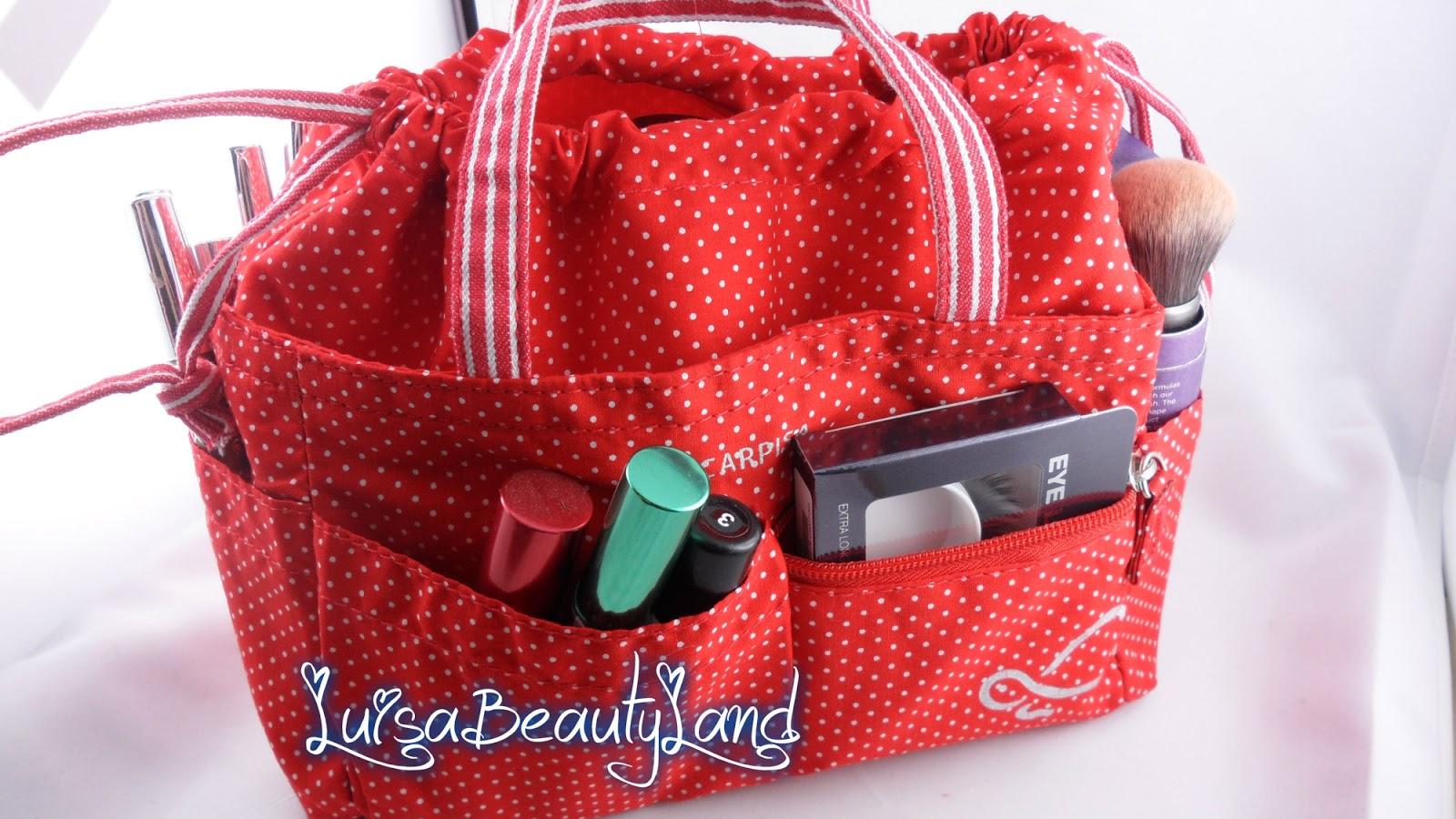 negozio online 003b7 3d43a fenrad Grigio Viaggi Donne Borsa Dell'organizzatore Della Fodera Tidy  Travel Organizer Borsa Pouch Bag in Bag Organizer Insert Pocket  Cosmetic--Grey