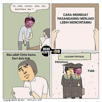 4 Meme 'Judul Skripsi' Ini Cocok Banget Buat Mahasiswa Penyuka Tantangan