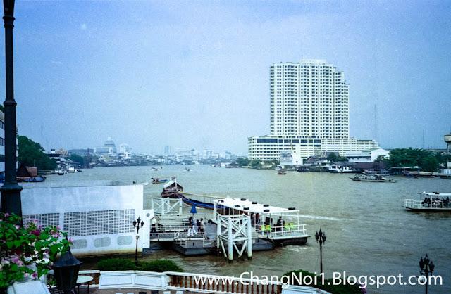 Chao Phraya River in Bangkok, Thailand (1997)