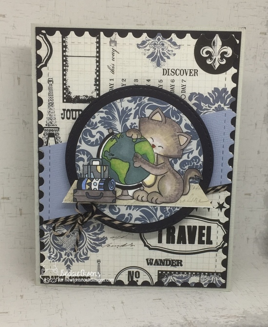 Travel by Debbie features Newton's Graduation, Loveable Llama, and Framework by Newton's Nook Designs; #newtonsnook