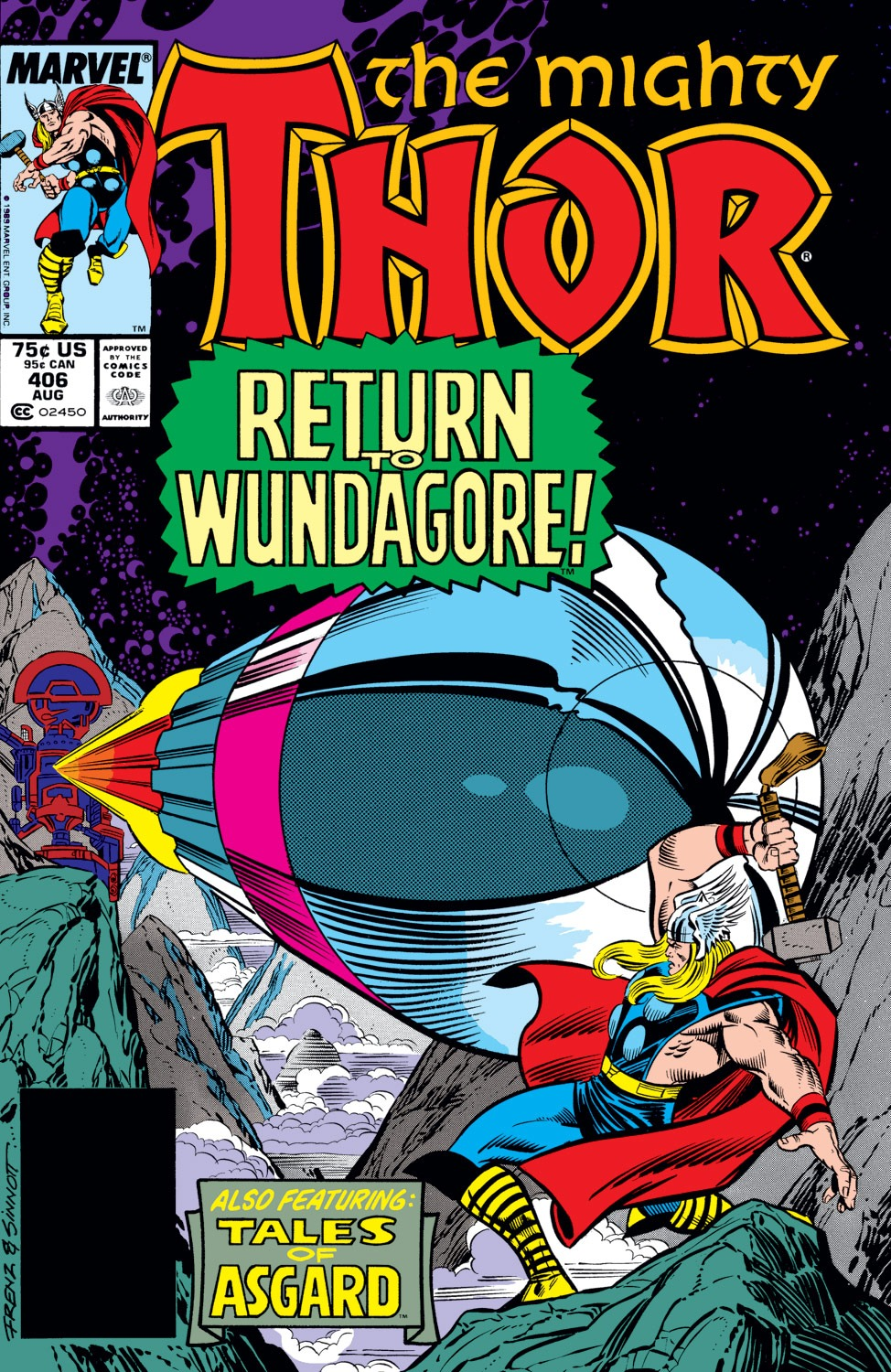 Thor (1966) 406 Page 1