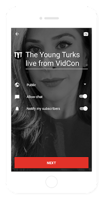 YouTube Live Streaming Feature on Mobile for Youtuber to Fan techwebcenter.com