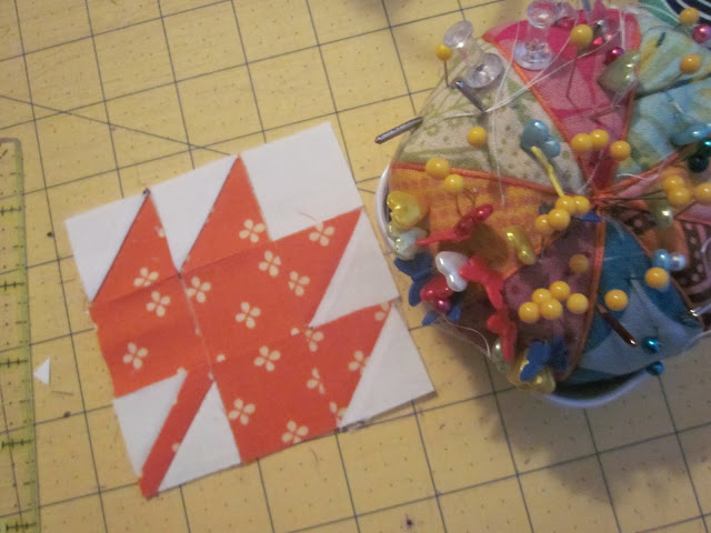 modern maples quilt block