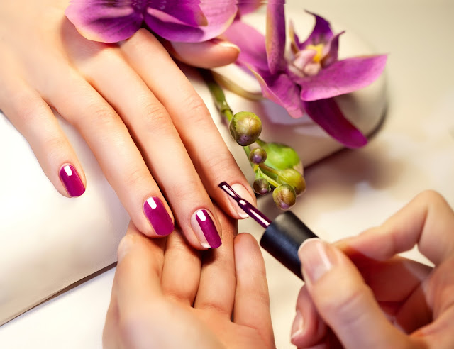 Apply your favorite color of nail polish