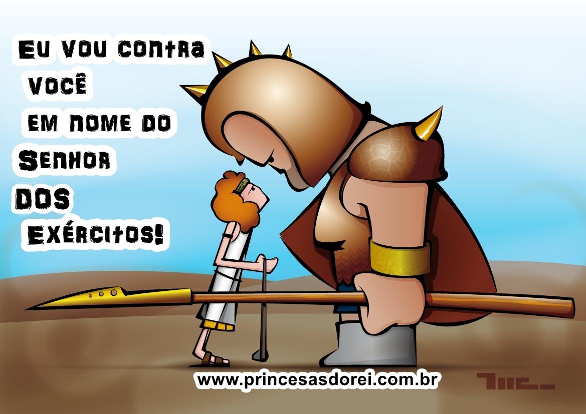 Davi e Golias, Força de Deus