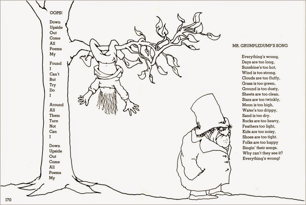 Shel Silverstein Illustrations: Creative Reading 4 Children