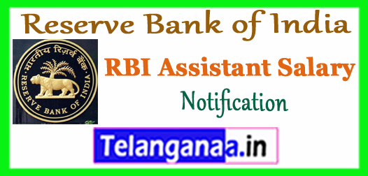 RBI Reserve Bank of India Assistant Salary In Hand Notification  2017 Work Profile Office Timings