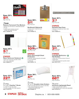 Staples Flyer April 19 – May 2, 2017