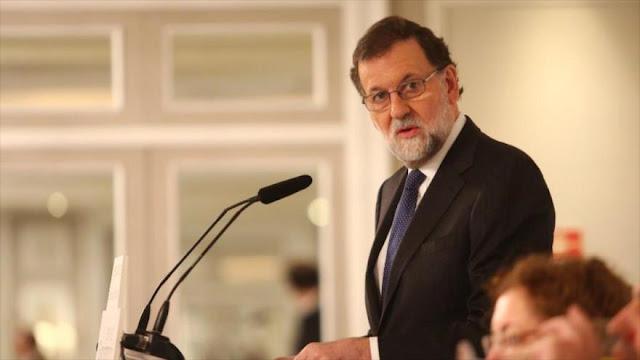 Rajoy amenaza con volver a aplicar artículo 155 en Cataluña