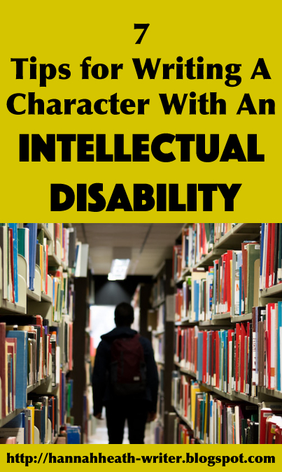 7 Tips for Writing A Character with an Intellectual Disability