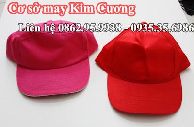 Sản xuất mũ nón giá tốt. sản phẩm đạt chất lượng và nhận giao hàng đi toàn quốc cho khách hàng ở xa. Khách hàng có nhu cầu đặt nón của công ty may Kim Cương hãy liên hệ với chúng tôi. LH: 02862.95.9938