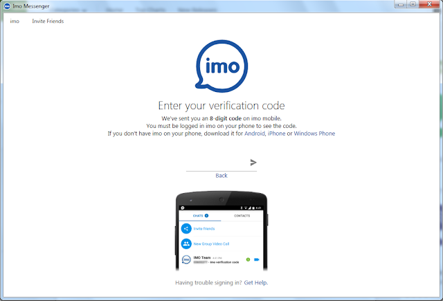 IMO for Windows app download