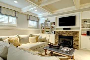 Designing Home: Simple window treatments for basement windows
