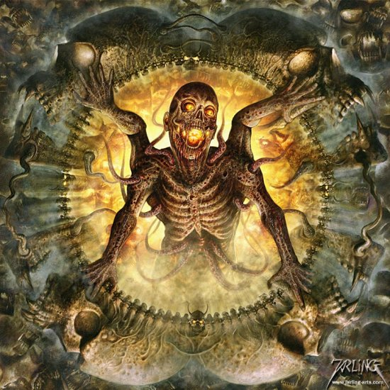 Uwe Jarling deviantart ilustrações terror heavy metal vintage