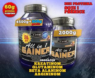 whey protein, cena proteina, cena kreatina, kreatin