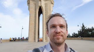 Me in Azerbaijan