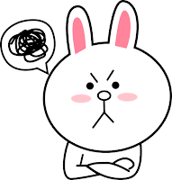 Cony Line Sticker