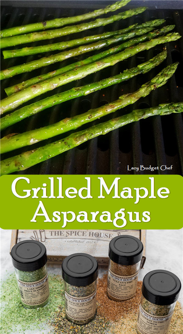 best grilled maple asparagus recipe